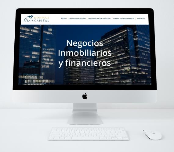 Sitio web Dominus Capital